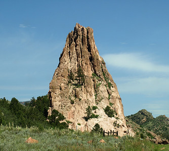 Rock Formation in Garden of the Gods - Colorado Springs, Colorado