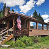 Peggy & A. C. Freese's cabin on the Rio Grande in Colorado -