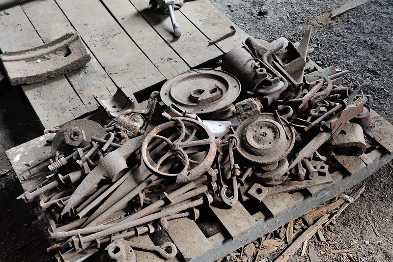 Railroad parts, Colorado