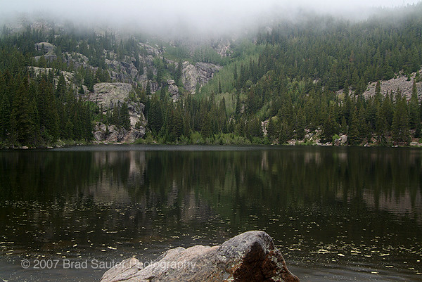 Bear Lake in Este Park Colorado.
