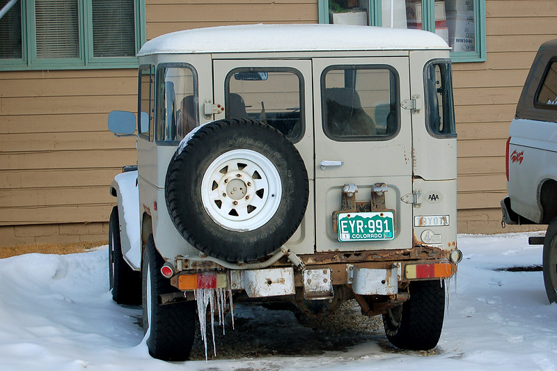 An old Land Cruiser, Crested Butte, CO