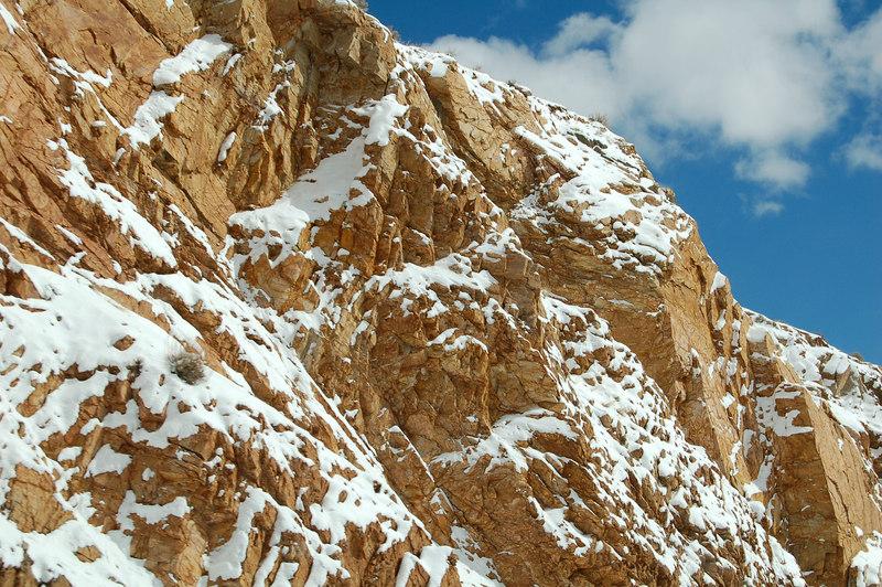 Reddish Rocks, somewhere between Gunnison and Monarch, CO