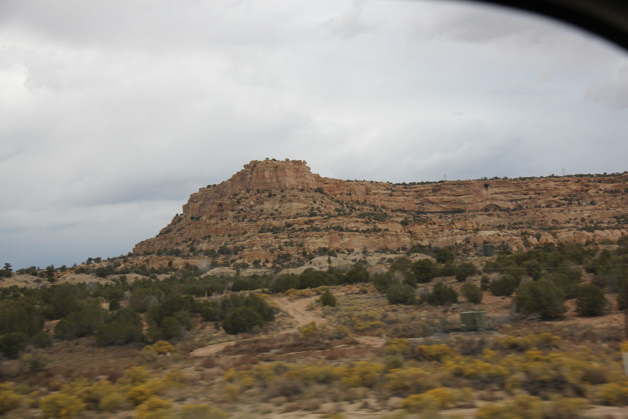 New Mexico along Hwy 64 in Four Corners Region