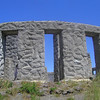 Looking back up the hill at Stonehenge. May 20.