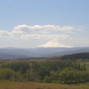 Mount Hood in the distance from Horsethief Butte. May 20.