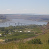 Looking down on Maryhill State Park in Goldendale from the Stonehenge war memorial.  May 20.