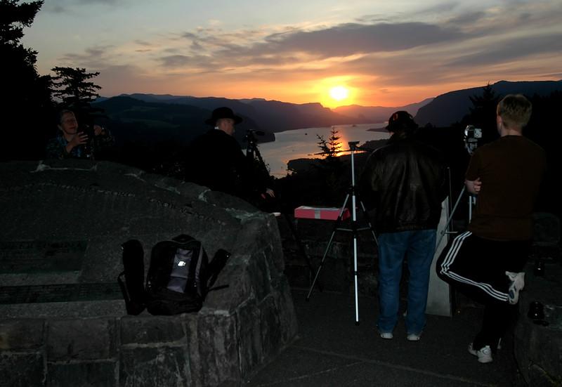 Sunrise from Portland Women's Forum