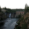 I left the restaurant around 4 a.m. and rode in the chilly dawn along the Centennial Trail to the dam at Nine Mile Falls.