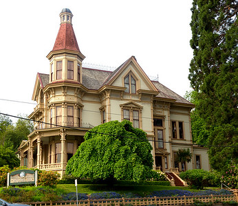 The Harry Flavel House is a museum and Astoria landmark.