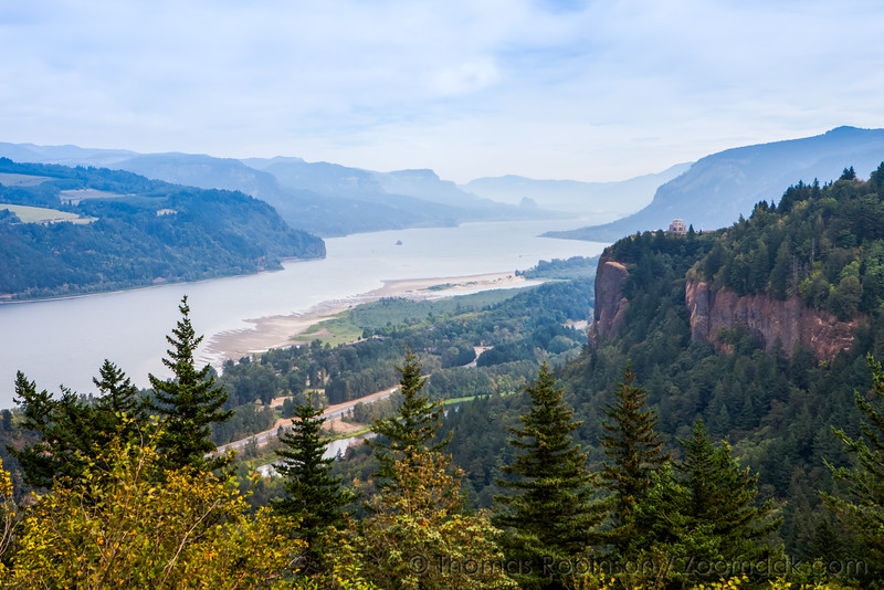 September in the Columbia River Gorge