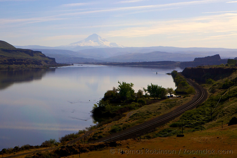 Mt. Hood and the Columbia River