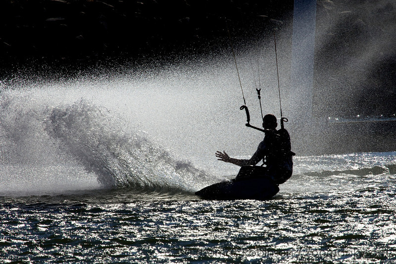 Kite Surfing on the Columbia River
