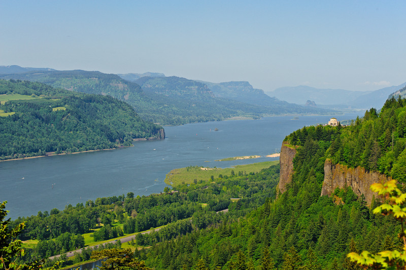 Columbia River Gorge - Crown Point and Vista House