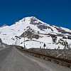 Mt Hood on the road to the Timberline Lodge