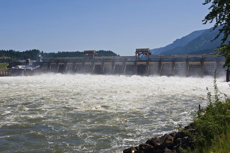 The Bonneville Dam