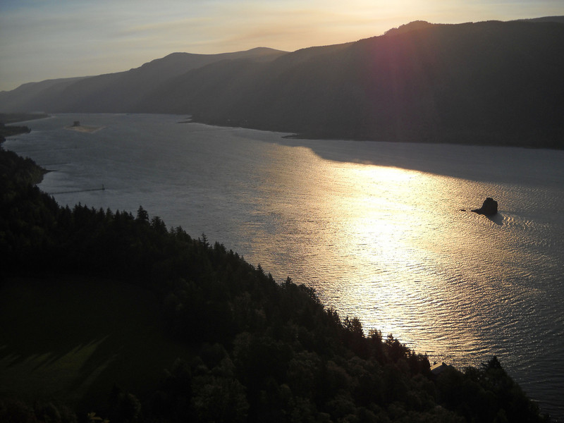 Sunrise on the Columbia River
