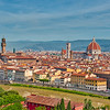 Florence , viewed from Piazalle Michael Angelo