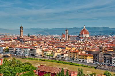 Florence , viewed from Piazalle Michael Angelo
