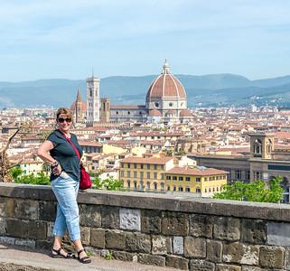 Beth , viewed from Piazalle Michael Angelo