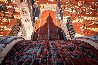 The view from the Duomo in Florence