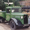 Bedford dropside truck DKN544 at the Amberley Chalk Pits museum in the 1980s