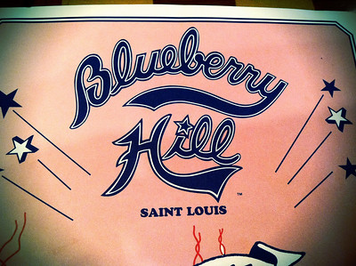 16 March 2011: St. Louis has a delightful amount of restaurants, Blueberry Hill being a favorite to revisit.