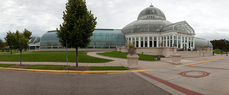 Conservatory in Como Park