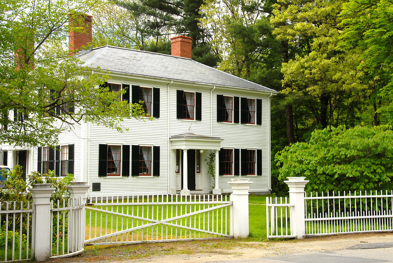 The Home of Ralph Waldo Emerson III