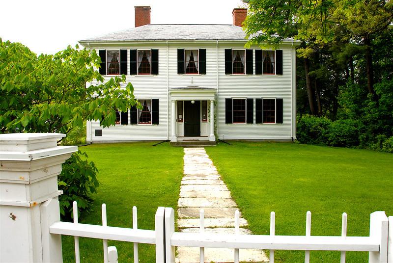 The Home of Ralph Waldo Emerson II