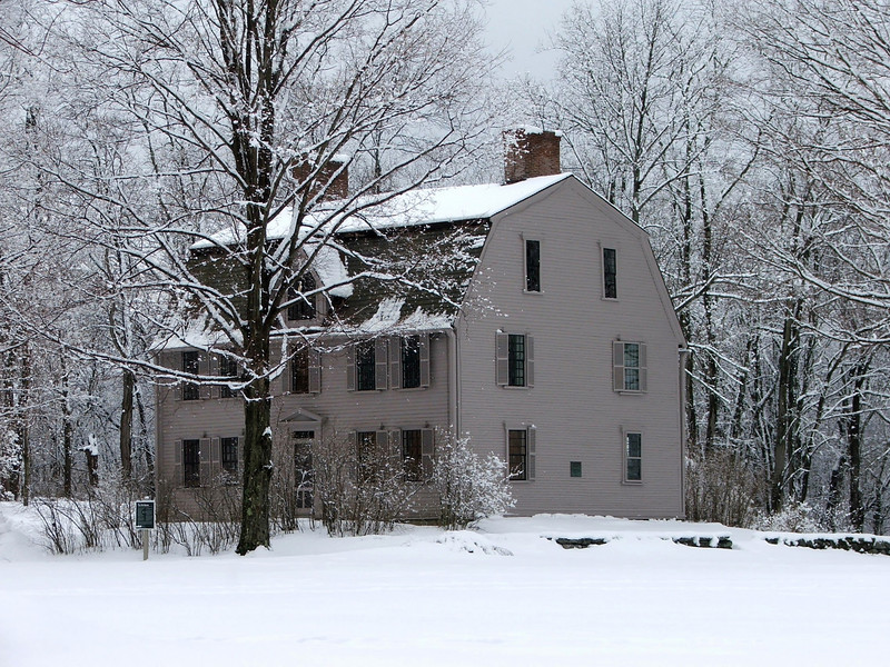 Old Manse in winter
