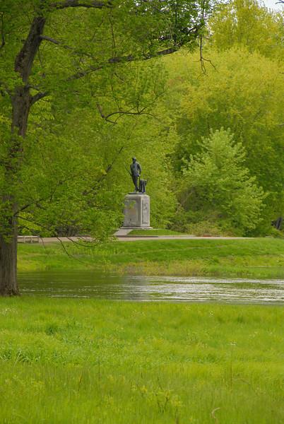 Minuteman Statue at North Bridge