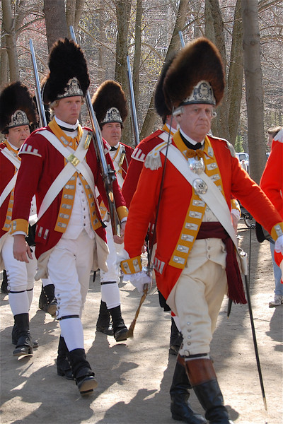 Red Coats March