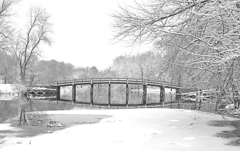 Snow On The Bridge