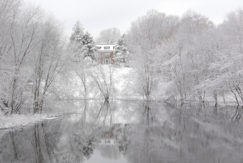 Concord River Reflects the Butterick Estate