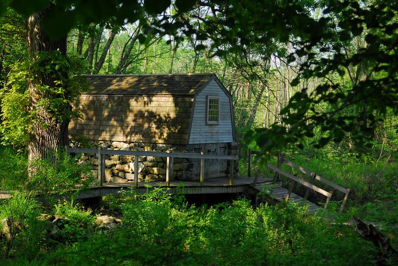 Boathouse at North Bridge