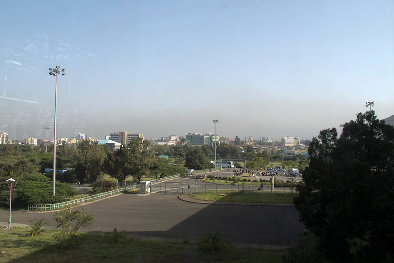 Addis Ababa, Ethiopia after a 13 hour flight from DC.