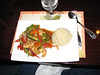 The meal I had an a Thai restaurant on Thursday noon.