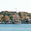 Mystic, CT Seaport -  View From Other Side of the Bay  10-23-98