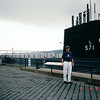 Randal at Nautilus Submarine Museum - Groton, CT 9-8-99