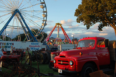 Woodstock Fair Sunset