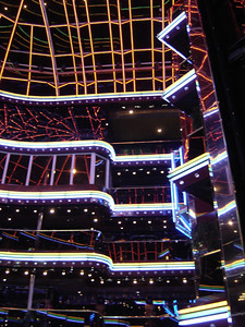 Carnival Cruise Lines.. as close as you can possibly come to being inside the world of TRON