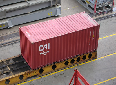 CAI cma cgm container