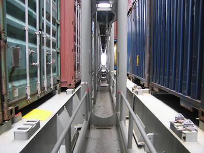 Opnamepunten 20/40 en 45 feet containers