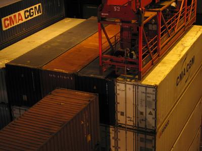 CMA CGM container