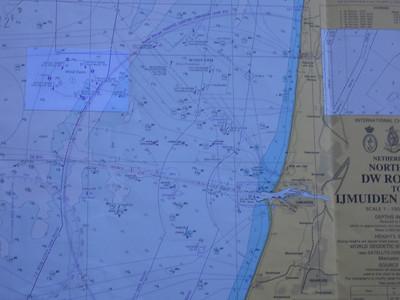 Windmolenpark voor de kust van Ijmuiden