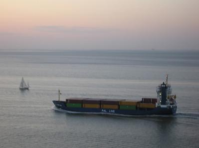 PAL Line kustvaarder Trans Odin, 304 teu