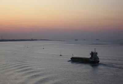 7 uur op de Elbe, loodswissel