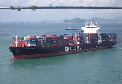 CMA CMG Nilgai 4250 TEU containerschip