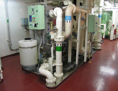 Zoet water machine