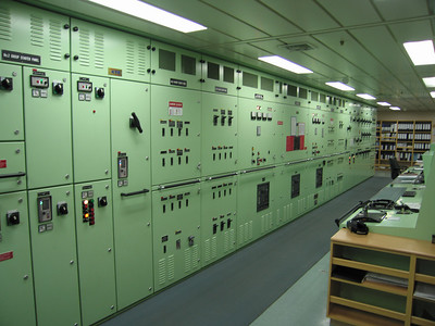 Controleruimte machinekamer